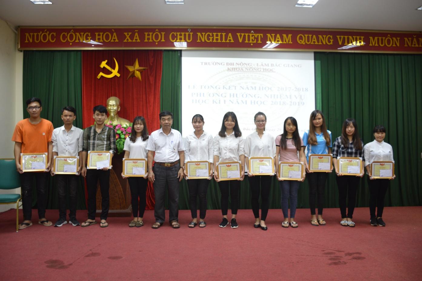 Lễ tổng kết năm học 2017-2018